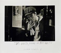 Duane Michals, Tom Waits, c. 1970s