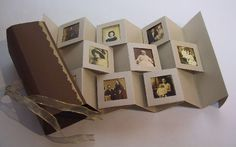 Gallery book using old family photos