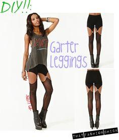 DIY: Garter Leggings
