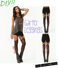DIY: Garter Leggings