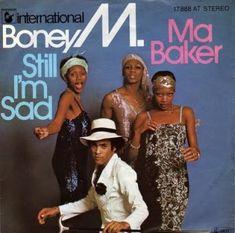 Boney M. - Ma Baker / Still I'm Sad First pressing, Vinyl) Boney M, Die Siebziger, German Tv Shows, Ma Baker, Pop Charts, Lp Cover, Vinyl Cover, Album Covers, Musica