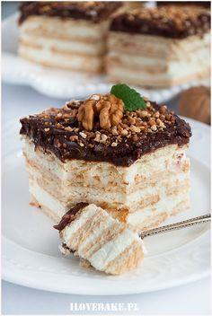 Ciasto jeżyki – I Love Bake – Famous Last Words Polish Desserts, Polish Recipes, No Bake Desserts, Delicious Desserts, Russian Dishes, Russian Desserts, Russian Recipes, Unique Recipes, Sweet Recipes
