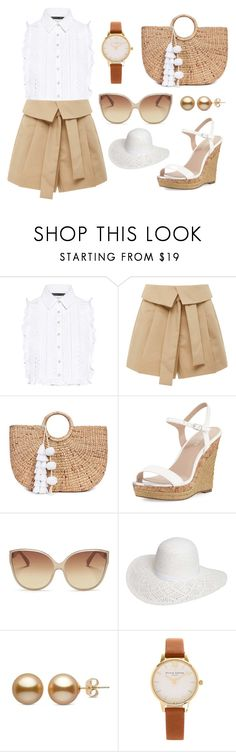 """Summer Brunch"" by autumn-fox on Polyvore featuring Marissa Webb, Acler, JADE TRIBE, Charles by Charles David, Linda Farrow, Dorothy Perkins and Olivia Burton"
