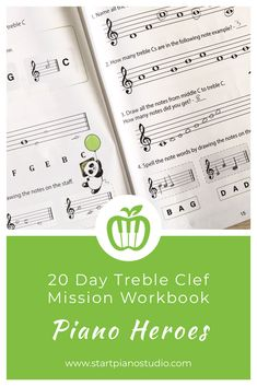 Draw, play, clap, match the concepts - that is what this workbook is about! Heroes Book, Curious Kids, Piano Teaching, Piano Lessons, Reading Activities, Music Education, Curriculum, Theory, Worksheets