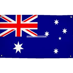 Hang this large Australia flag on the wall for an easy Australian party decoration - perfect for Australia Day.