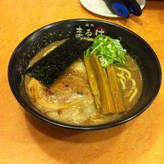 麺処まるは 健松丸 超濃厚豚骨ラーメン 中華そば