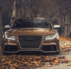 Brown Audi