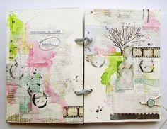 Sketchbook layouts