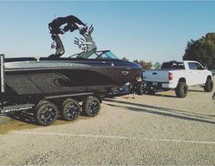 """123 Likes, 4 Comments - Wake Boat Life (@wake_boat_life) on Instagram: """"What does everyone think about this sick new centurion? What a set up!! sent in by…"""""""