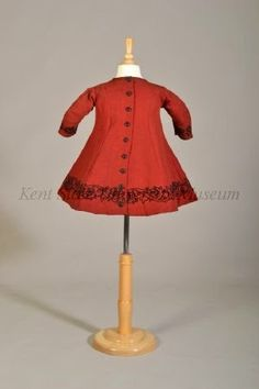 In the Swan's Shadow: Child's dress, 1860s