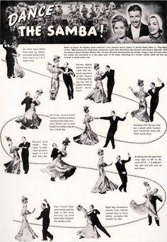 Carmen Miranda teaches how to dance samba!