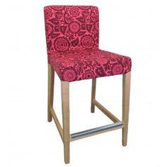 Joel Dewberry slipcover for IKEA Henriksdal bar stool