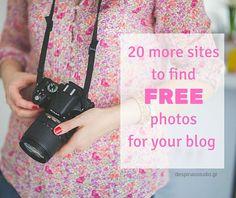 20 ακόμα site με ΔΩΡΕΑΝ και ΕΛΕΥΘΕΡΕΣ φωτογραφίες για το blog σου by Despinas Studio