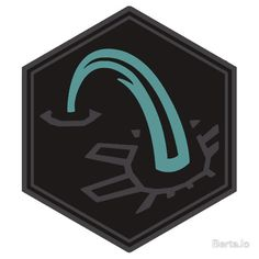 Connector Onyx Medal- Sticker