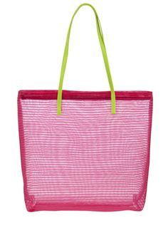 F&F Mesh Striped Bag