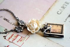 Book locket
