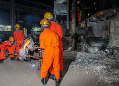 Iron mine photography for Kashi Vishwanath Steel Limited Kashipur by #mukeshkapurphotography #industrialphotoshoot
