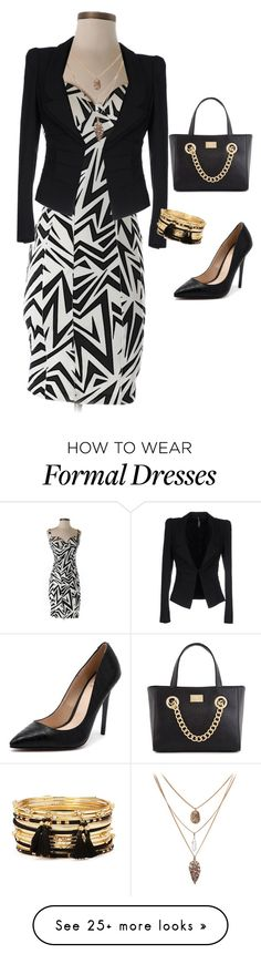 """""""Formal Kardashian"""" by princessalilo on Polyvore featuring Kardashian Kollection, Liviana Conti and Forever 21"""