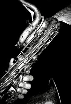There's nothing quite like playing the bari sax.