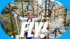 Think Colorado!   Small Towns, Big Adventures Challenge yourself at Captain Zipline's new Aerial Adventure Park with swinging bridges, catwalks, ladders, platforms, nets, rope and cable swings, obstacles and flying elements.