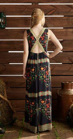 Só na Antix Store você encontra Vestido Longo Legumes com exclusividade na internet