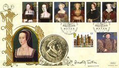 The Great Tudor Anne Boleyn First Day Cover Stamp. Signed by Dorothy Tutin Tudor History, British History, Wives Of Henry Viii, 1st Day, First Day Covers, Gifts For Photographers, Anne Boleyn, Historian, Creative Gifts