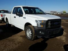 Salvage 2015 Ford F150 Super  Pickup For Sale | Clean Title