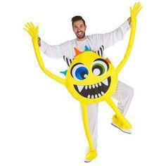 Disfraz de Monstruo Amarillo para adulto