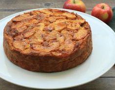 Recette - Gâteau aux pommes, sauce caramel et beurre salé en vidéo