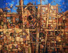 Shustov art. Scenery reconstruction.