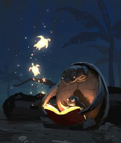 Goro Fujita #Illustration #Bedtime_Story
