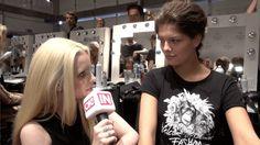 Mirja du Mont sprach backstage mit GNTM-Gewinnerin Vanessa Fuchs.