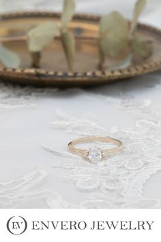 Designed and produced by Envero Jewelry Wedding Engagement, Wedding Rings, Unique Diamond Engagement Rings, Vintage Inspired, Handmade Jewelry, Gifts, Inspiration, Biblical Inspiration, Presents