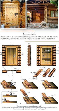 двери для бани по-русски
