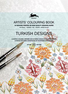 Künstler-Malbuch »Türkische Muster«.