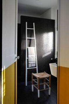 Après rénovation : une douche à l'italienne modernise l'espace rénové