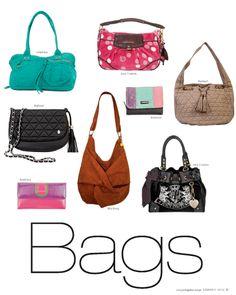 Fashion Bags - Revista J #fullcolor #summer #lovefashion #shopping #style #lima @jockeyplaza