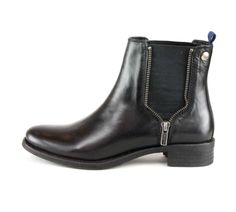 OVERIDER 'MILLY' Leather Ankle Boots, these super cool leather boots will become your wardrobe favourite, the zip detail gives a rock chic edge to a classic jodhpur boot shape, just pull-on and go. Rock Chic, Jodhpur, Blue Fabric, Leather Ankle Boots, Chelsea Boots, Shoe Boots, Shape, Zip, Detail
