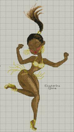 Lady x-stitch African Cross Stitch Love, Cross Stitch Kits, Cross Stitch Patterns, Black Women Art, Girly, Filet Crochet, Cross Stitching, Beading Patterns, Needlepoint