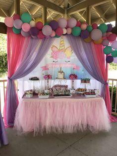 Unicorns Birthday Party Ideas | Photo 7 of 31