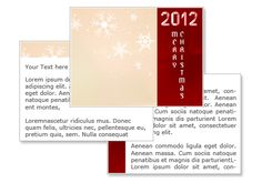 Christmas 2012 powerpoint template