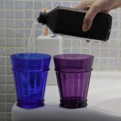 Hydrogen Peroxide to Sanitize Toothbrushes