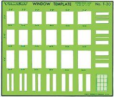 Standard Window Sizes
