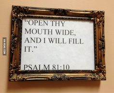 Bible verse at my dentist's office