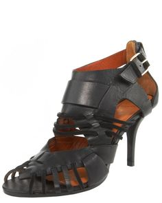 Cutout Ankle-strap Sandal