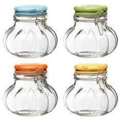 Global Amici 4Ozrainbow Spice Jar  Set Of Four  Rainbows Cool Kitchen Jar Set Design Inspiration