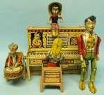 Lil-Abner-Band. Blechspielzeug Serien-Karikatur. Near Mint mit Schachtel. www.antique-toys.dk