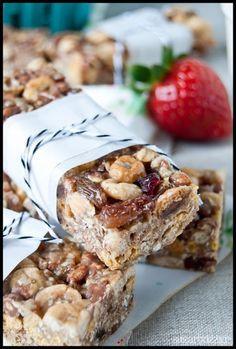 Sugar Buzz: Μπάρες δημητριακών Bar, Sweet Tooth, Cereal, Cookies, Breakfast, Recipes, Food, Bakken, Biscuits