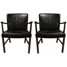 Ole Wanscher Chair Set | 1stdibs.com