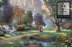 Walk of Faith by Thomas Kinkade